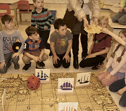 Animation scolaire au primaire